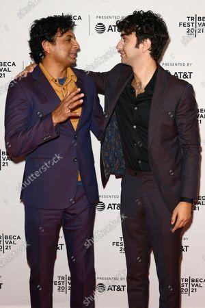 Editorial image of Directors Series: M. Night Shyamalan, Arrivals, Tribeca Film Festival, New York, USA - 18 Jun 2021