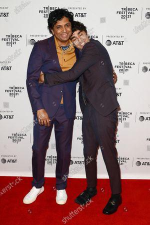Editorial picture of Directors Series: M. Night Shyamalan, Arrivals, Tribeca Film Festival, New York, USA - 18 Jun 2021