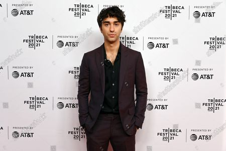 Stock Image of Nat Wolff at the 2021 Tribeca Festival Directors Series - M Night Shyamalan.