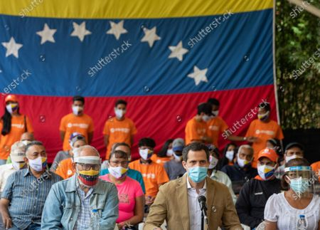 Editorial photo of International opposition tour will discuss the end of sanctions, according to Guaido, Caracas, Venezuela - 18 Jun 2021