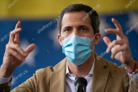 Editorial image of International opposition tour will discuss the end of sanctions, according to Guaido, Caracas, Venezuela - 18 Jun 2021