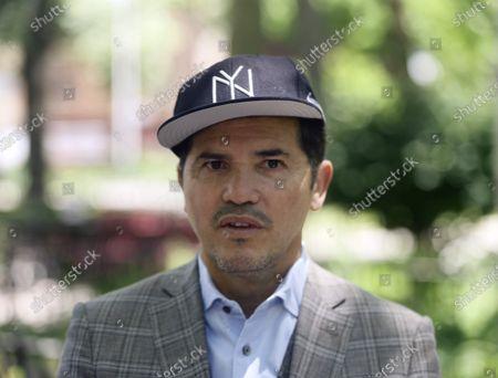 John Leguizamo in New York City
