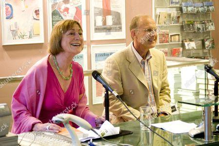 Miranda Seymour and  British writer and essayist Tim Parks