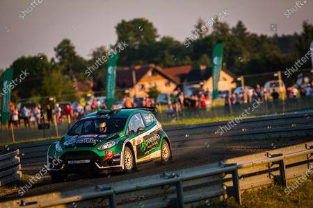 Editorial picture of Rally 2021 FIA ERC Rally Poland, 1st round of the 2021 FIA European Rally Championship, Mikolajki, Italy - 18 Jun 2021