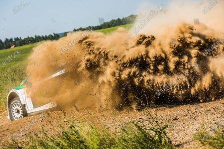 36 MITCHELL Jason (IRL), WARD Peter (GBR), Jason MITCHELL, Ford Fiesta, action