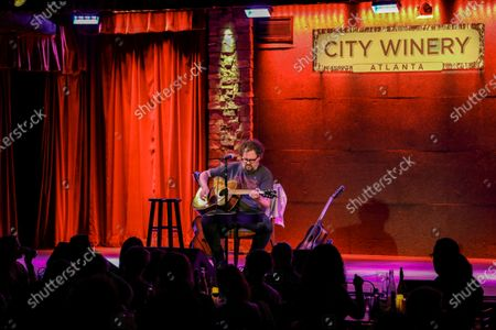 Stock Picture of Patterson Hood of Drive By Truckers Performs at City Winery, in Atlanta