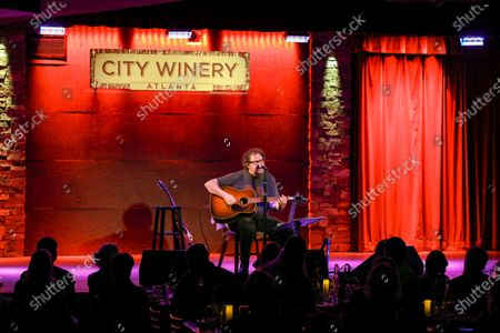 Stock Image of Patterson Hood of Drive By Truckers Performs at City Winery, in Atlanta