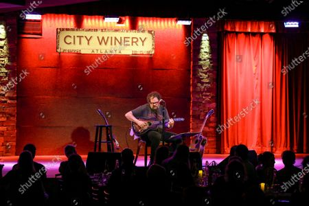 Stock Photo of Patterson Hood of Drive By Truckers Performs at City Winery, in Atlanta