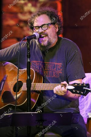 Patterson Hood of Drive By Truckers Performs at City Winery, in Atlanta