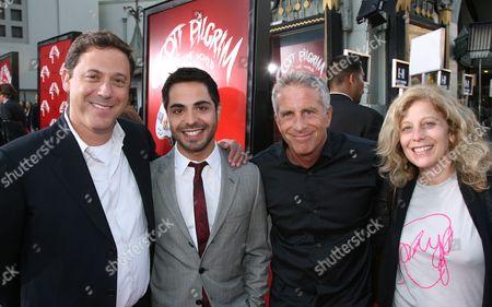 Universal's Adam Fogelson, Satya Bhabha, Marc Platt and Universal's Debbie Liebling