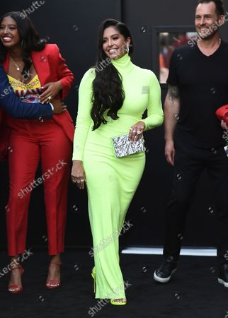 """Vanessa Bryant arrives at the Los Angeles premiere of """"F9: Fast & Furious 9"""" at the TCL Chinese Theatre on"""