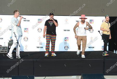Nick Carter, Joey Fatone, AJ McLean and Lance Bass