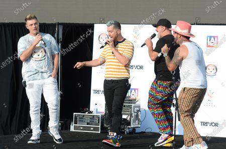 Editorial picture of Bingo Under the Stars in Celebration of LA Pride, Los Angeles, California, USA - 18 Jun 2021