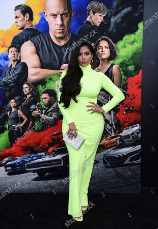 """Editorial image of Premiere of """"F9: Fast & Furious 9"""", Los Angeles, United States - 18 Jun 2021"""
