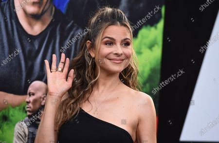 """Stock Picture of Maria Menounos arrives at the Los Angeles premiere of """"F9: Fast & Furious 9"""" at the TCL Chinese Theatre on"""