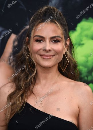 """Stock Photo of Maria Menounos arrives at the Los Angeles premiere of """"F9: Fast & Furious 9"""" at the TCL Chinese Theatre on"""