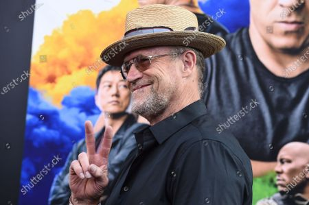 """Stock Image of Michael Rooker arrives at the Los Angeles premiere of """"F9: Fast & Furious 9"""" at the TCL Chinese Theatre on"""