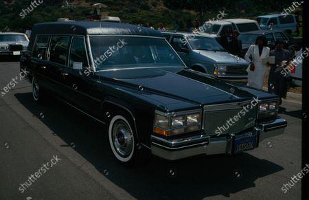 UNITED STATES - circa 1990: Sammy Davis Jr. - funeral?