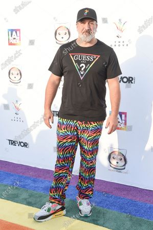 Joey Fatone attends Bingo Under the Stars, at The Grove in Los Angeles