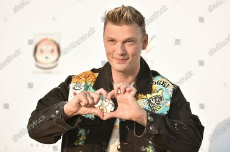 Nick Carter attends Bingo Under the Stars, at The Grove in Los Angeles