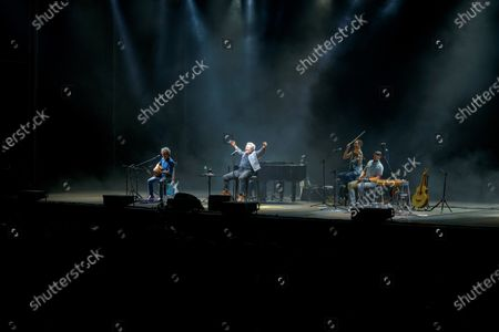 Miguel Rios performs on stage at Starlite Festival in Marbella, southern Spain, 19 June 2021.