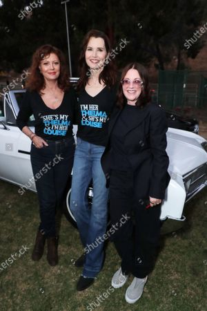 Editorial photo of MGM's THELMA & LOUISE 30th Anniversary Celebration Special Drive-In screening, Los Angeles, CA, USA - 18 June 2021
