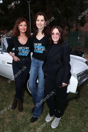 Susan Surandon, Geena Davis and Megan Mullally