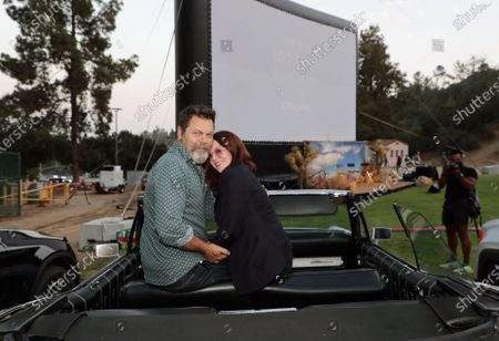 Editorial image of MGM's THELMA & LOUISE 30th Anniversary Celebration Special Drive-In screening, Los Angeles, CA, USA - 18 June 2021