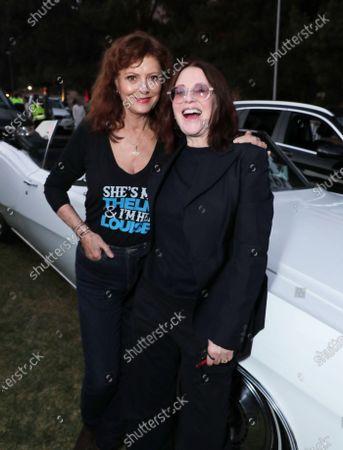 Stock Photo of Susan Surandon and Megan Mullally