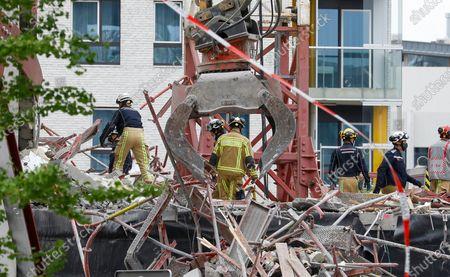 Building collapse, Antwerp