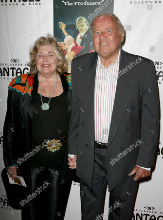 Dick Van Patten and wife Patricia Poole