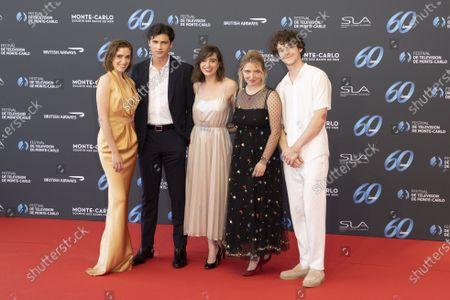 Editorial picture of 60th Monte-Carlo TV Festival, Opening Ceremony, Monte-Carlo, Monaco - 18 Jun 2021