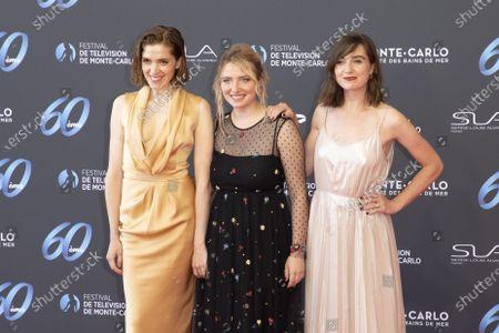 (L-R) Maud Wyler, Lula Cotton Frapier, Nina Meurisse,