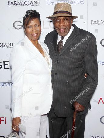 Bill Cobbs and wife Carolyn