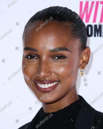 Stock Picture of Model Jasmine Tookes