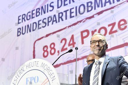 Editorial image of Extraordinary federal party meeting of the FPOe, Wiener Neustadt, Austria - 19 Jun 2021