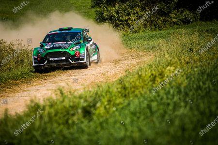 Editorial photo of Rally 2021 Rally Poland, 1st round of the 2021 FIA European Rally Championship, Mikolajki, Poland - 19 Jun 2021