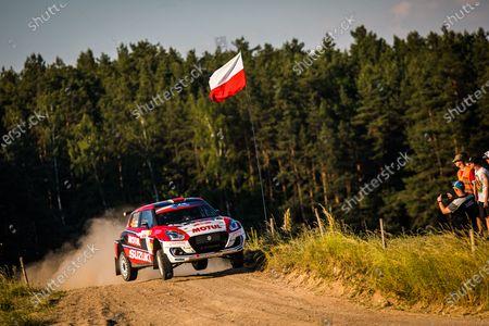 Editorial picture of Rally 2021 Rally Poland, 1st round of the 2021 FIA European Rally Championship, Mikolajki, Poland - 19 Jun 2021