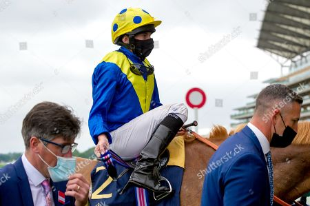 Ryan Moore won the Diamond Jubilee Stakes (Group 1) (British Champions Series) today at Royal Ascot on horse Dream of Dreams. Trainer Sir Michael Stoute