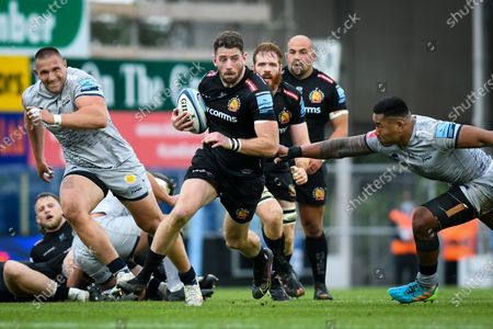 Editorial photo of Exeter Chiefs v Sale Sharks, UK - 19 Jun 2021