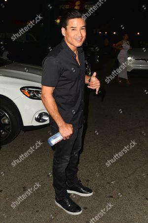 Stock Picture of Mario Lopez