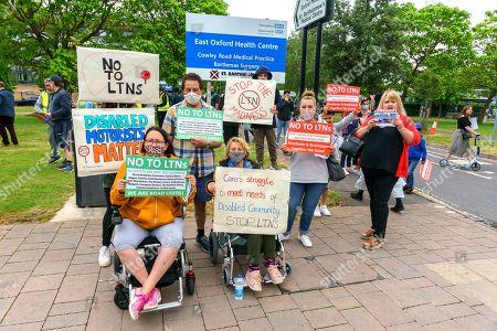 Anti-LTN protest, Oxford