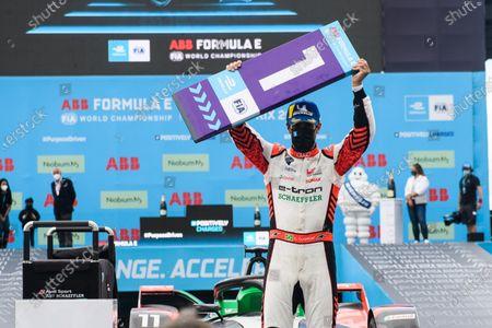 Stock Photo of Lucas Di Grassi (BRA), Audi Sport ABT Schaeffler, 1st position during the 2021 Formula E Round 8 - Puebla E-Prix