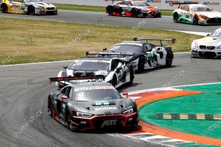 AUTODROMO NAZIONALE MONZA, ITALY - JUNE 19: Mike Rockenfeller, Abt Sportsline Audi R8 LMS GT3 at Autodromo Nazionale Monza on Saturday June 19, 2021 in Monza, Italy. (Photo by Alexander Trienitz / LAT Images)