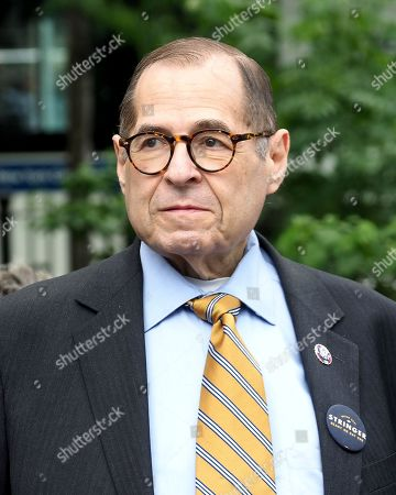 Jerrold Nadler at a rally for New York City Mayoral candidate Scott Stringer at a GOTV Rally at Verdi Square, on West 73rd Street and Broadway in New York City
