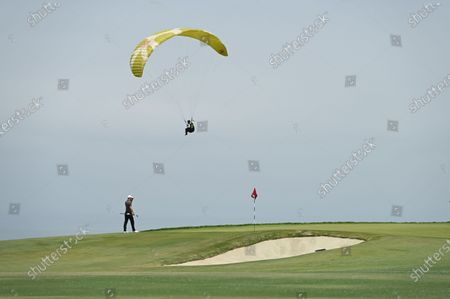 Martin Kaymer on the 4th hole during the fourth round of the 2021 U.S. Open Championship in golf at Torrey Pines Golf Course in San Diego, California, USA.