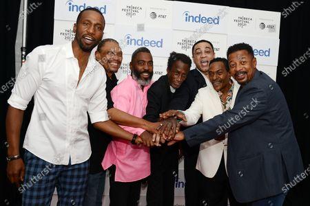 Editorial photo of 'The Five Heartbeats' film premiere, Arrivals, Tribeca Film Festival, New York, USA - 19 Jun 2021