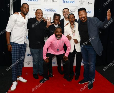 'The Five Heartbeats' film premiere, Arrivals, Tribeca Film Festival