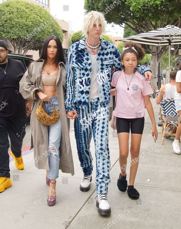 Megan Fox and Machine Gun Kelly out and about, Los Angeles