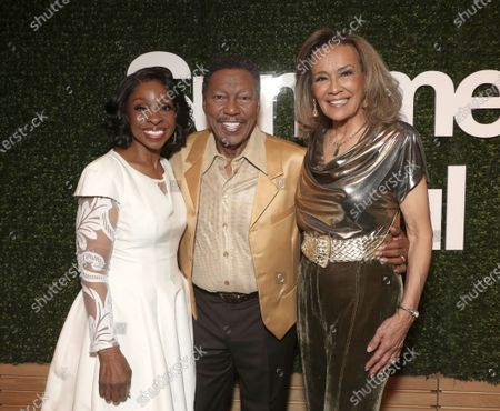 Exclusive - Gladys Knight with Billy Davis Jr. and Marilyn McCoo